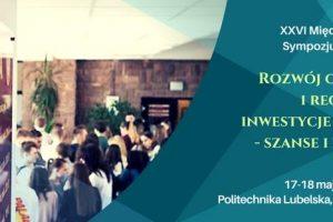 XXVI Międzynarodowe Sympozjum Naukowe 18-19 Maja 2017